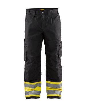 Blaklader Black/Yellow Ripstop Pants