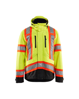 Blaklader Yellow/Black Oxford Hi-Vis Jacket