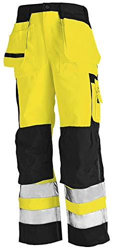 Blaklader Yellow/Black Satin Hi-Vis Pants