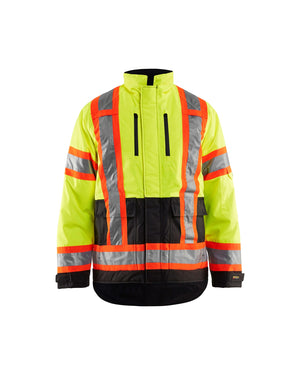 Blaklader Yellow/Black Winter Oxford Hi-Vis Jacket