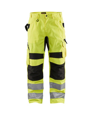 Blaklader Yellow/Black Hi-Vis Ripstop Pants