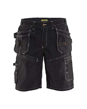 Blaklader Black Canvas X1600 Shorts