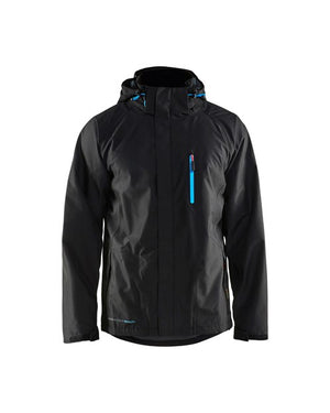Blaklader Black Plain Rain Jacket