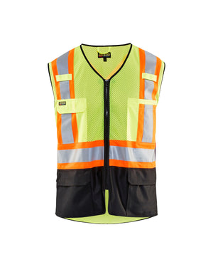 Blaklader Yellow/Black Mesh Knit Hi-Vis Vest