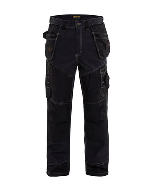 Blaklader Navy Blue/Black Denim X1600 Pants