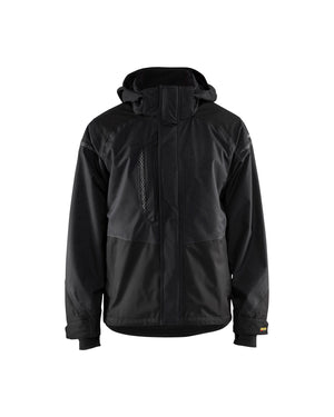 Blaklader Black Wind/Water/Cold Twill Shell Jacket