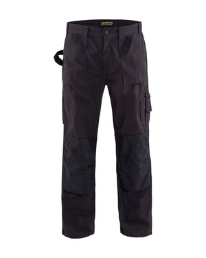 Blaklader Steel Blue Canvas Work Pants