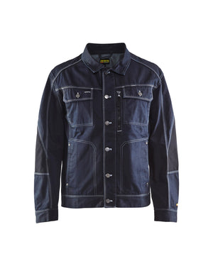 Blaklader Navy Blue/Black Denim Jacket