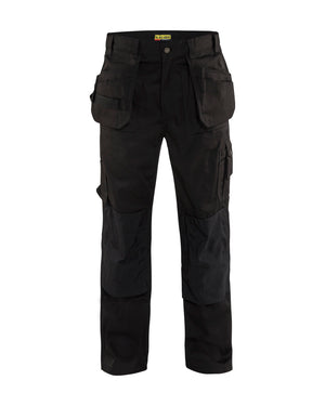 Blaklader Black Twill Work Pants