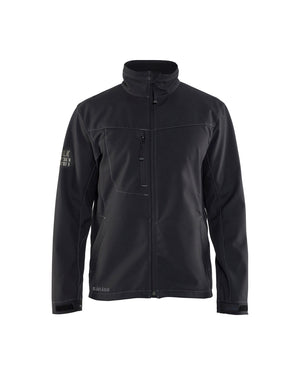 Blaklader Black Wind/Water/Cold 3-Layer Softshell Jacket