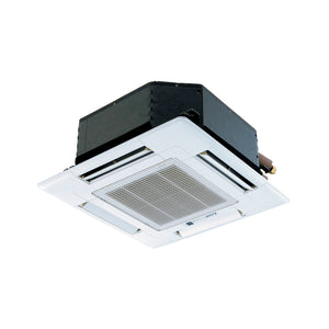 "Mitsubishi Mr.Slim SLZ-KF15NA-TH 4 Way Ceiling-Cassette (25.625"" x 25.625"" Grille Included)"