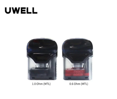 Original Uwell Crown Refillable Pod Cartridge 3ml & 2ml (2pack)