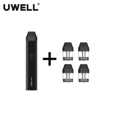UWELL Caliburn Pod System Kit + 4 Cartridges