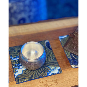 .999 Silver Teacup - Wuji Tea Company