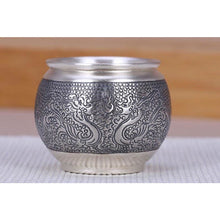 Load image into Gallery viewer, .999 Silver Teacup - Wuji Tea Company