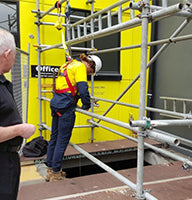 Confined Training in Action