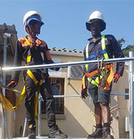 FTS SAFETY WORKING AT HEIGHTS TRAINING IN ACTION
