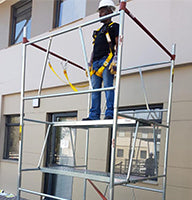 FTS SAFETY SCAFFOLDING TRAINING IN ACTION