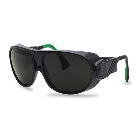 Uvex futura welding 5 spectacle Black/Green
