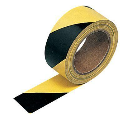 Barrier Tape (50m) - Yellow-Black