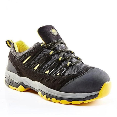 Bata Bickz Trail Safety Shoe - Yellow