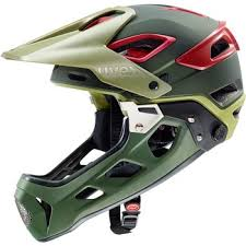 uvex jakkyl HDE Moutntain Bike Helmet - Olive-Red