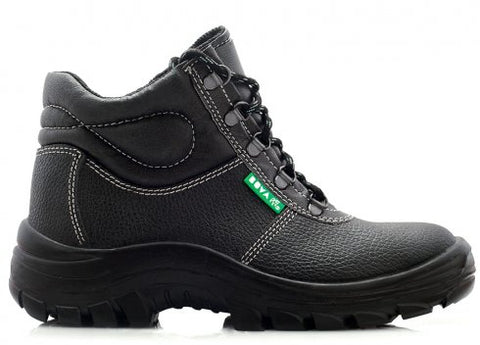 Bova Maverick Men's Durable Safety Shoes - Black