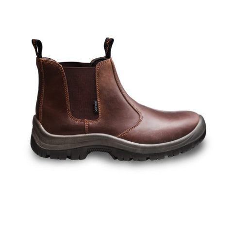 Bronx Chelsea Formal Boot - Brown