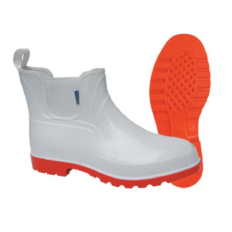 Wayne Chelsea Gumboot - White-Red