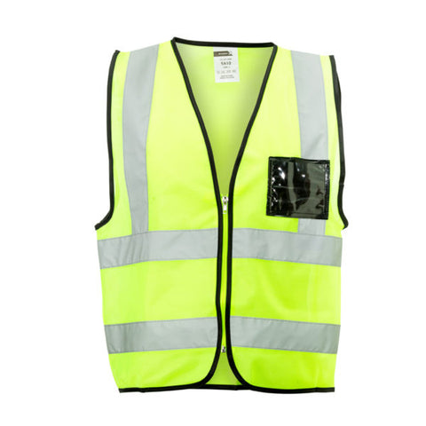 Dromex Reflective Vest (with ZIP) - Lime