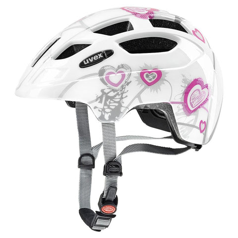 uvex finale jr. Kiddies Sports Helmet - White-Pink