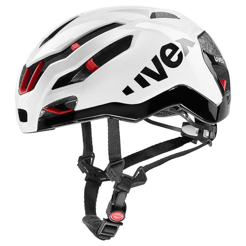 Uvex White Racing Helmet