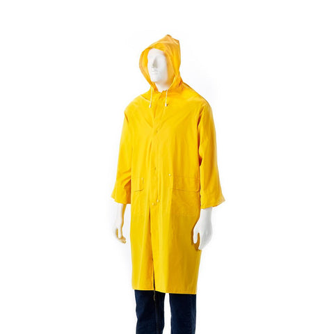 Dromex PVC Raincoat - Yellow