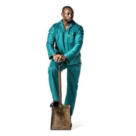 Dromex Poly Cotton Conti Suit - Emerald Green