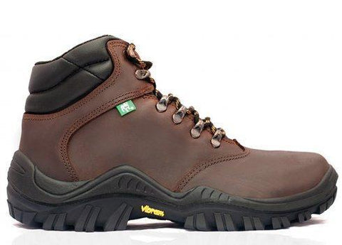 Bova Nebula Brown Safety Boots