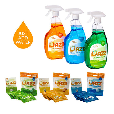 DAZZ Whole House Starter Kit Refill Pack