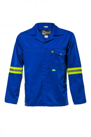 Bova TRI-REFLECT 65/35 Poly Cotton Work Jacket - Navy