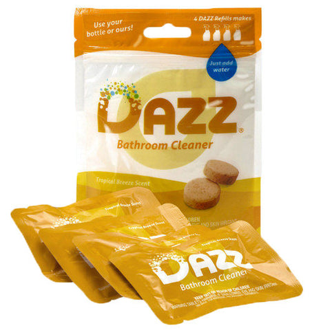 DAZZ Bathroom Cleaner Tablet - Refill Kit