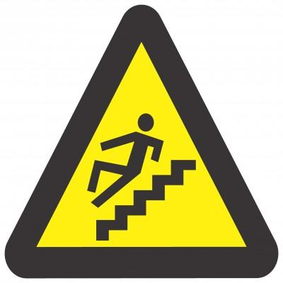 Signage - Beware Of Steps (290X290mm)