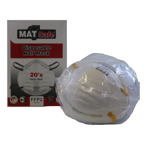 Premium FFP2 Dust Masks (BOX OF 20)
