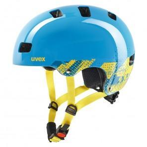 uvex kid 3 Cycling Helmet - Blackout-Blue