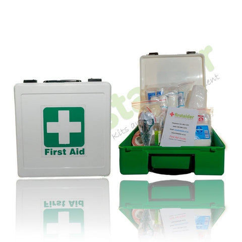 First Aid Kit (plastic box with contents) - Regulation 3