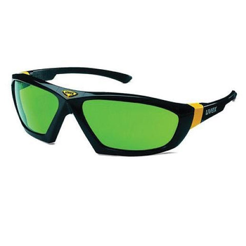 uvex Infradur Spectacles (Wrap-Around) - Green