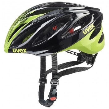 uvex boss race Sports Helmet - Grey-Neon-Yellow