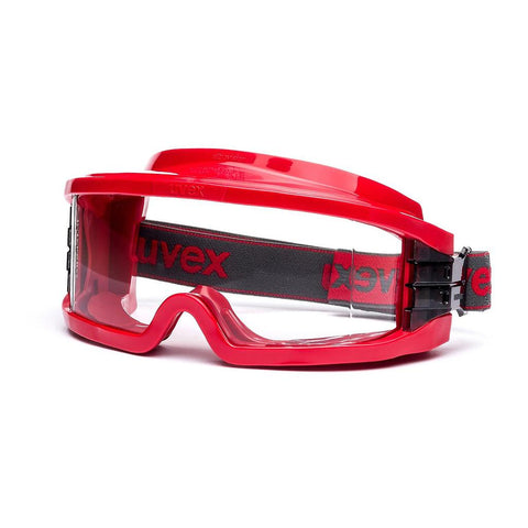 uvex Gas-Tight Ultravision Goggles - Red