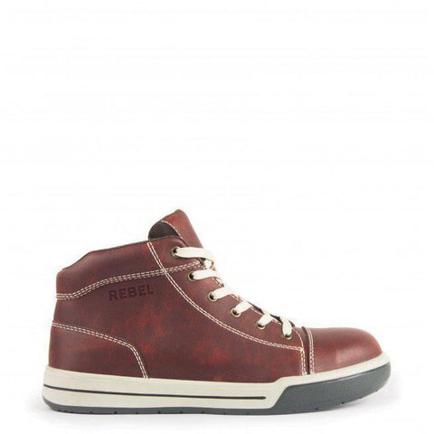 Rebel Hi Top Brown Boot