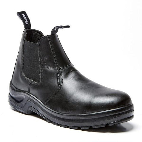 Bata Industrial Chelsea Smooth Safety Boot (Steel Toe) - Black