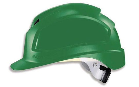 uvex Pheos Green Hard Hat With Rachet