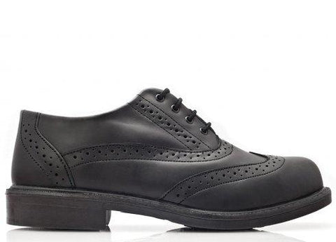 Bova Black JARMAN Executive safety shoe.