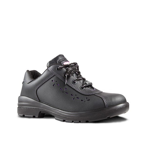Sisi Madonna Safety Shoe - Black